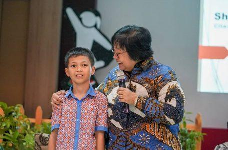 Menteri LHK, Siti Nurbaya Ajak Siswa Sekolah Jaga Alam dan Lingkungan