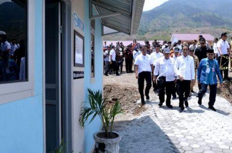 Presiden Jokowi: Pembangunan Hunian Tetap Untuk Korban Gempa Awal 2020