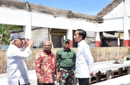 Kementerian PUPR Prioritaskan Perbaikan Pasar, Ruko dan Rumah Warga Pasca Kerusuhan Wamena