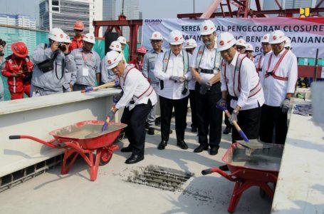 Kementerian PUPR Melalui KKJTJ Berikan Sertifikat Desain Jembatan Long Span LRT Jabodetabek