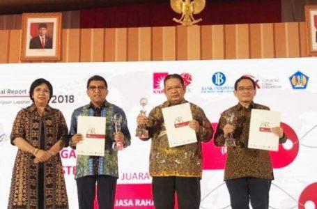 Jasa Raharja Raih Juara II Annual Report Award 2018