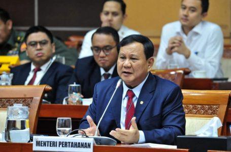 Menhan Hadiri Rapat Perdana Dengan Komisi I DPR RI