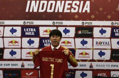 Resmi, Shin Tae-yong Jadi Pelatih Timnas Indonesia