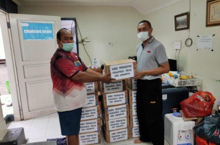 Wasit Bola Voli DKI Jakarta Dapat Bantuan Sembako