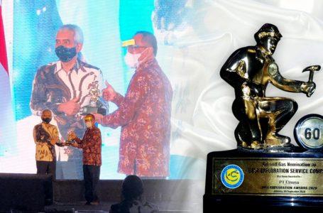 Elnusa Raih Penghargaan Best Oil & Gas Exploration Services Company di Ajang IAGI Exploration Award 2020