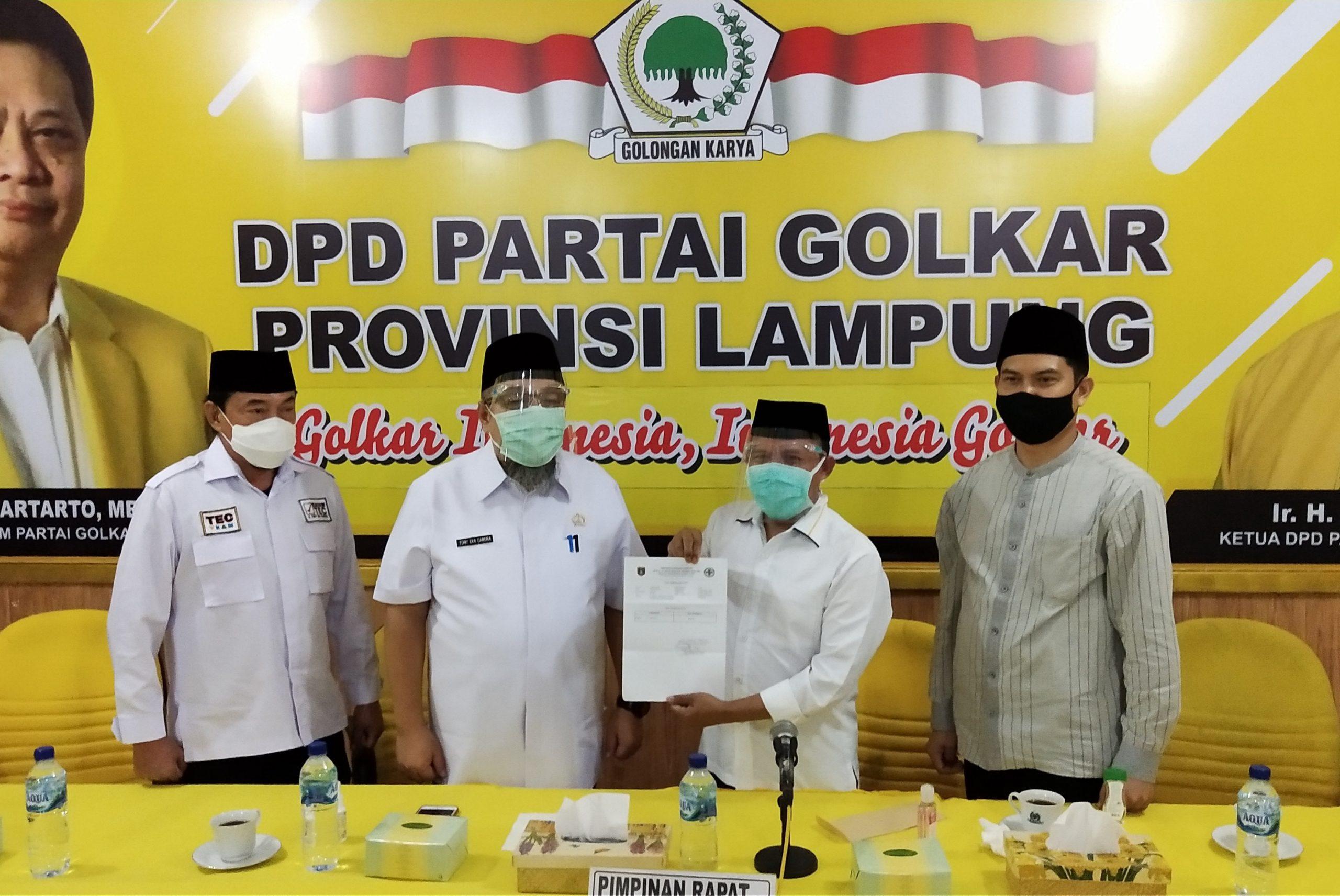 Kabar Gembira, Calon Wakil Bupati Lampung Selatan H. Antoni Imam Dinyatakan Negatif Covid-19