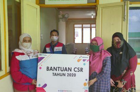 Pertamina Bantu Fasilitas Belajar di Universitas Taman Siswa Palembang