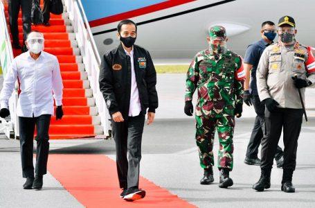 Jokowi Tinjau Pengembangan Lumbung Pangan Baru dan Serahkan Sertifikat Tanah