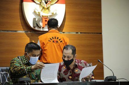 KPK Tahan Tersangka Kasus PBJ Kabupaten Lampung Selatan