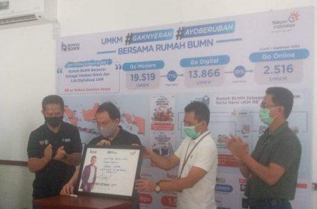 Bantu UMKM Lokal Bangkit, Rumah BUMN Purbalingga Gelar Bazar Online