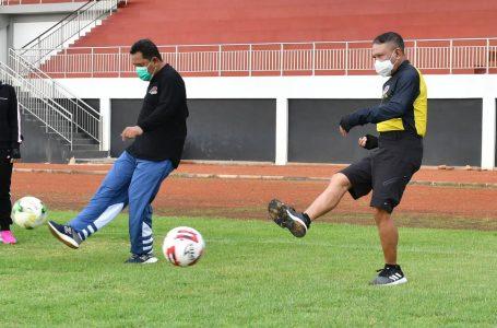 Menpora RI Minta Pembangunan Fasilitas Olahraga Berstandar Internasional
