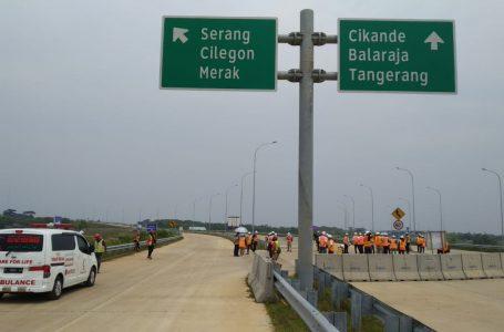 Progres 84,18%, Jalan Tol Serang-Panimbang Seksi 1 Siap Dukung Arus Mudik Lebaran 2021