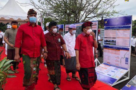 Kementerian PUPR Mulai Pekerjaan Pengendalian Banjir Tukad Unda