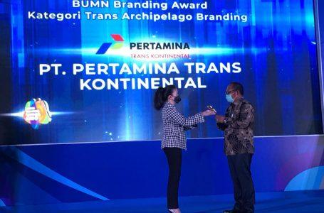 PT Pertamina Lubricants Sabet 3 Penghargaan di Ajang BUMN Branding & Marketing Award 2020