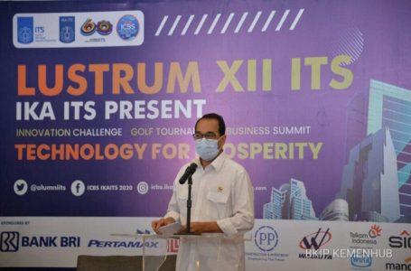 Menhub Budi Karya Ajak Generasi Muda Ciptakan Inovasi di Tengah Pandemi