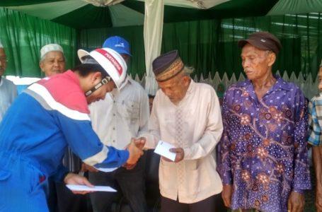 Pertamina EP Rantau Field Salurkan Program Rumah Dhuafa
