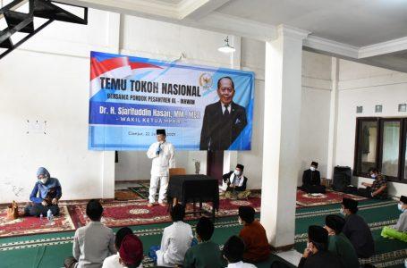 Syarief Hasan Dorong Santri Indonesia Terus Berkarya Di Masa Pandemi Covid-19