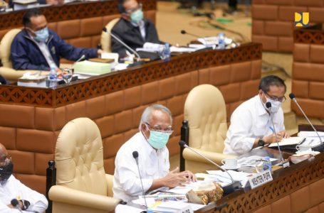 Dukung Pemulihan Ekonomi Nasional, Menteri Basuki Targetkan Penyerapan Anggaran Triwulan I TA 2021 Sebesar 20%