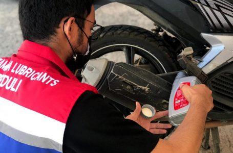 Pertamina Adakan Ganti Oli Gratis Bagi Warga dan Relawan Gempa Sulbar
