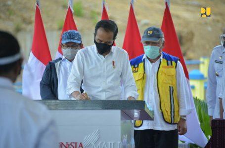 Resmikan Bendungan Napun Gete, Presiden Jokowi : Air untuk Kemakmuran Sikka dan NTT