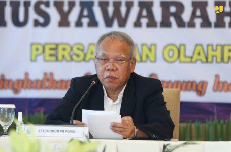 Terpilih Ketua Umum PB PODSI Periode 2021-2025, Menteri Basuki : Pertahankan dan Tingkatkan Prestasi Atlet Dayung Menuju Olimpiade 2032