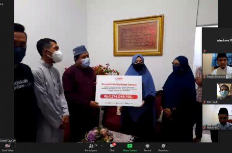 Donasi Bagi Istri Ustadz Maaher Dapat Rp 1 Milyar Lebih