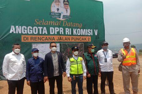 Anggota Komisi V DPR RI Dorong Percepatan Proyek Jalur Alternatif Puncak II