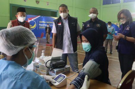 Sentra Vaksinasi NasDem Peduli Gelar Dosis Kedua