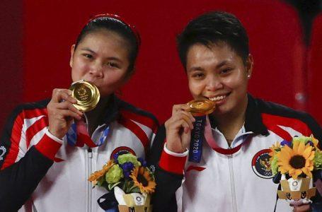 Greysia Polii/Apriyani Rahayu Raih Emas Pertama Olimpiade Tokyo 2020